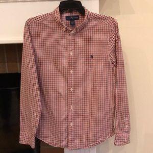🆕🍁RALPH LAUREN Long Sleeve Button Shirt XL 18-20